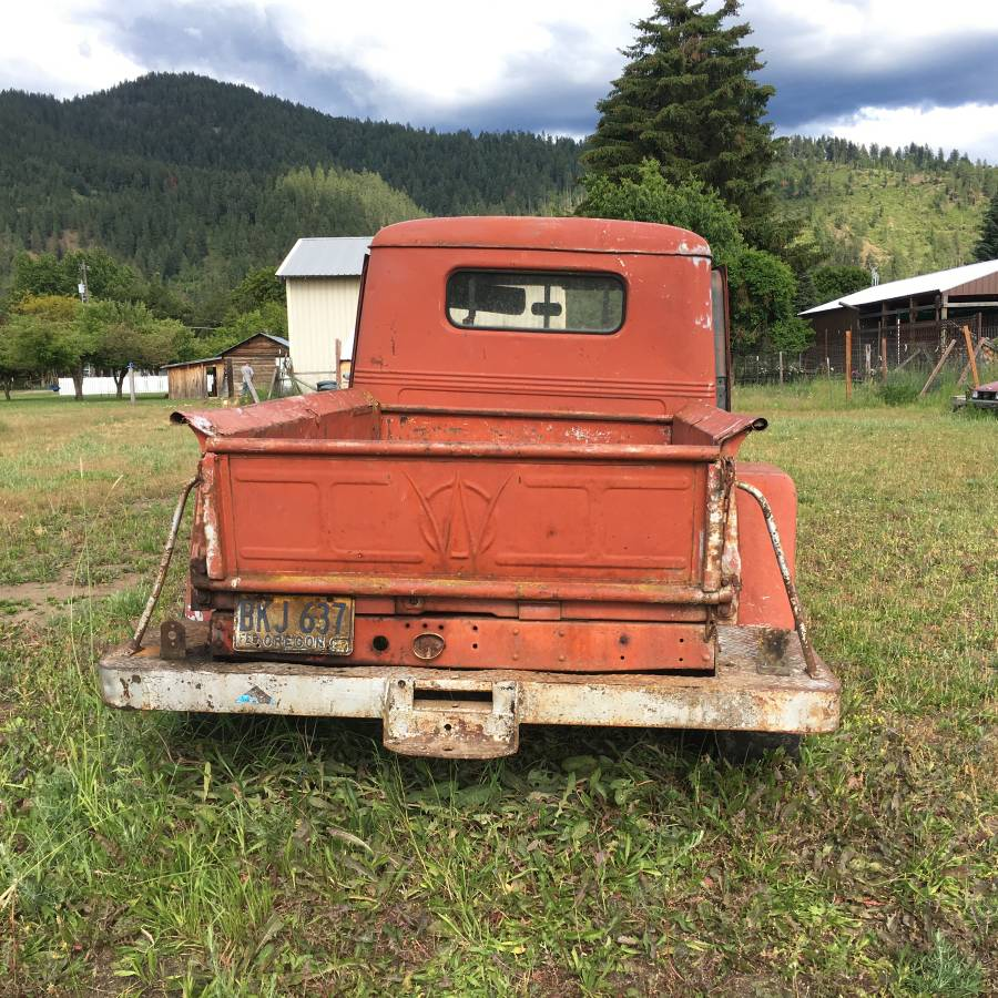 1953 Willys Red Pickup For Sale In Dalton Gardens, ID