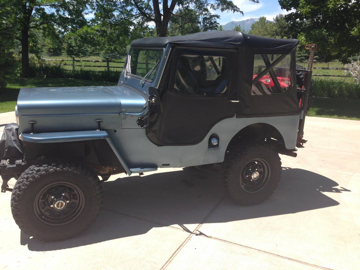 1953 willys cj3b convertible for sale in logan ut 6 500. Black Bedroom Furniture Sets. Home Design Ideas
